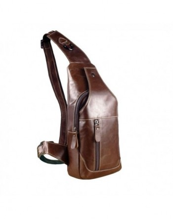 RS Genuine Shoulder Crossbody Backpack