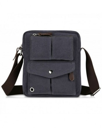 Small Vintage Canvas Shoulder Messenger