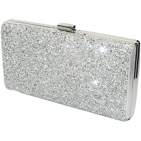 Covelin Womens Handbag Envelope Rhinestone Evening Clutch Bag Hot