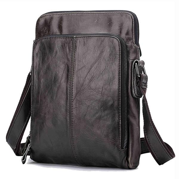 Genuine Leather Crossbody Messenger Shoulder