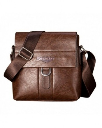 Womail Fashion Leather Shoulder Satchel