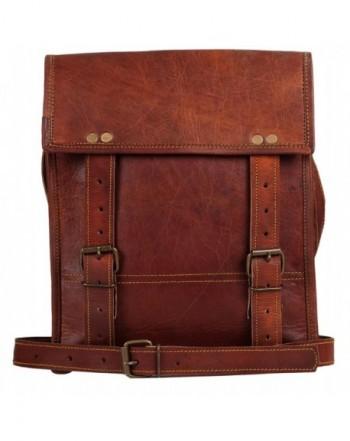 Crossbody Messenger Business Briefcase Distressed