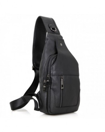 LXFF Leather Backpack Shoulder Crossbody