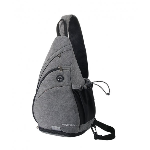 Backpack WATERFLY Crossbody Daypack Rucksack
