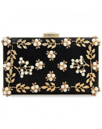 Milisente Clutches Pearls Evening Clutch