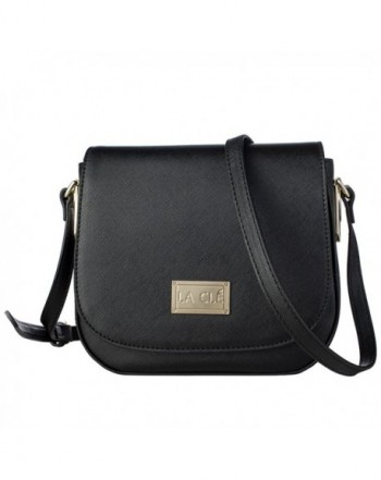 Cl%C3%A9 010Saddle Structured Crossbody Leather