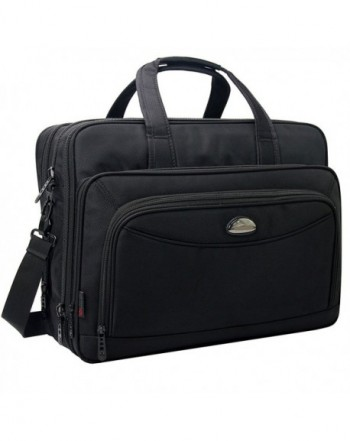 Expandable Briefcase Messenger Crossbody Ultrabook