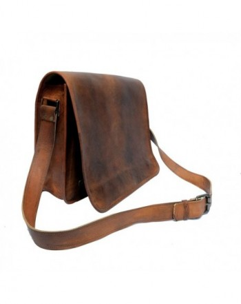 IndianHandoArt Leather Messenger vintange Crossbody