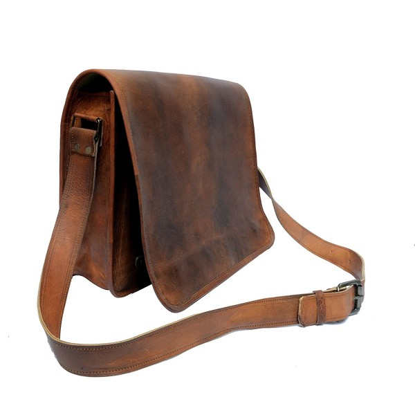 structural disablities amazing quality online here IndianHandoArt Full Flap Leather Messenger Bag vintange satchel bag for Men  and Women Crossbody Bags unisex - CZ12NRZY856