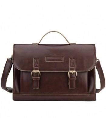 Bagerly Vintage Messenger Shoulder Briefcase