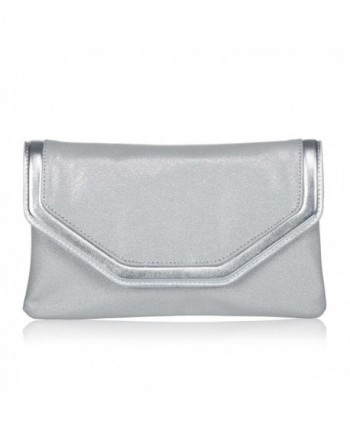 Classic Leather Evening Clutch WALLYNS