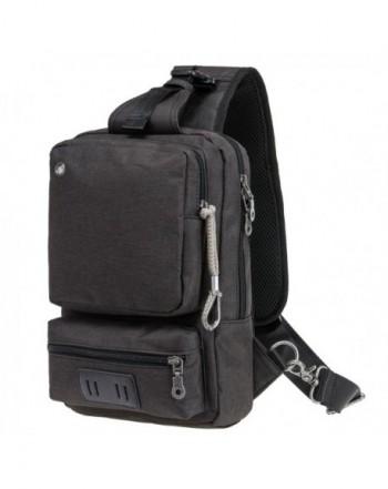 Riavika Shoulder Backpack Travel Outdoor Black