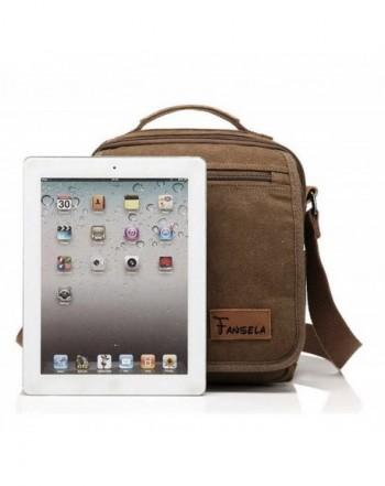 Fansela TM Summer Small Canvas Messenger Bag Small Travel School Crossbody Shoulder Work Bag
