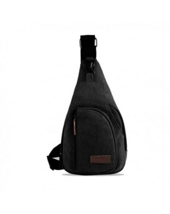 Chigant Canvas Sling Crossbody Backpack