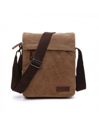 NANJUN Vintage Messenger Shoulder jb007 Coffee s