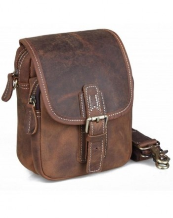 Genda 2Archer Travel Satchel Leather