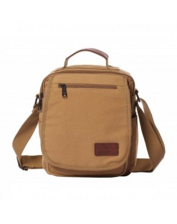 Veenajo Shoulder Multi Pockets Crossbody Messenger