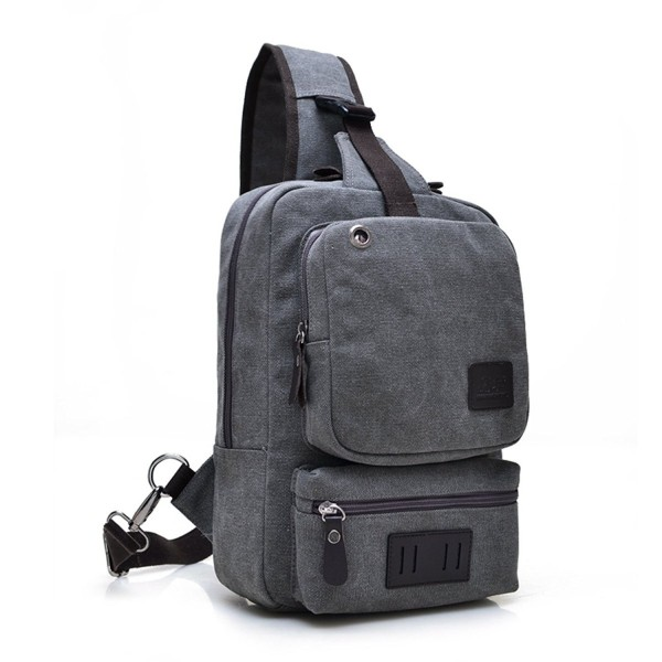 Canvas Crossbody Sling Backpack Messenger