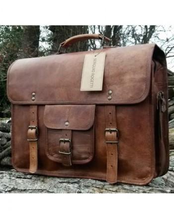 Gbag (T) Vintage Leather Laptop Bag 15