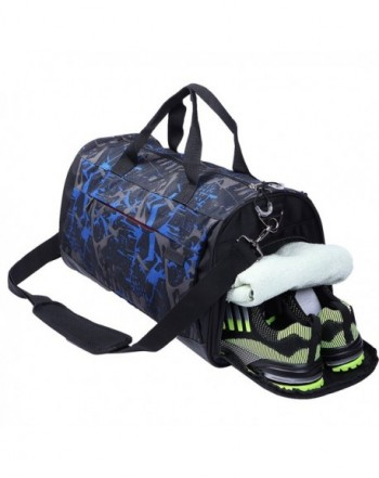 AiiGoo Sports Gym Bag Compartment