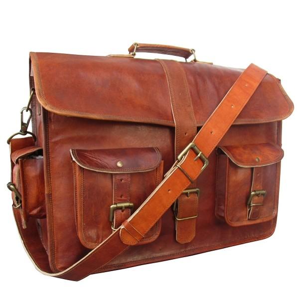 IndianHandoArt Leather Messenger vintange Crossbody