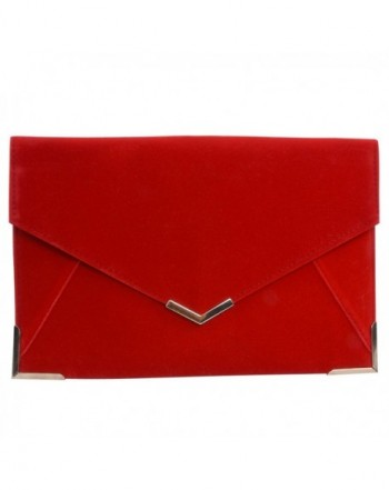 Envelope Evening Metal Trim Shoulder Wedding