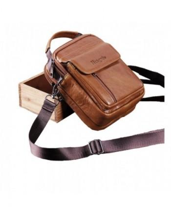Genuine Leather Shoulder Messenger Satchel