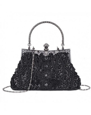 Vintage Sequined Evening Wedding Handbag