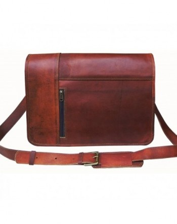 Leather Messenger briefcase VINTAGE COUTURE