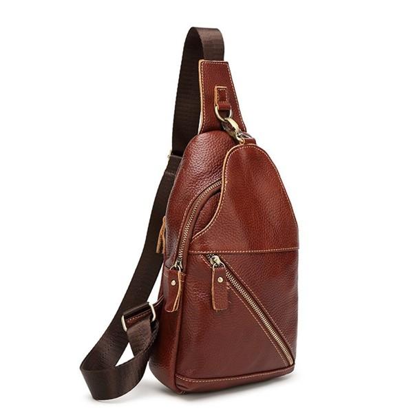SIFINI Fashion Genuine Leather Backpack