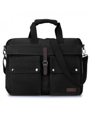 S ZONE Messenger Multicompartment Shoulder Briefcase