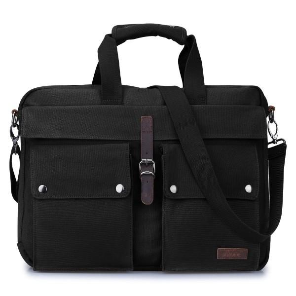 S ZONE Messenger Multicompartment Shoulder Briefcase