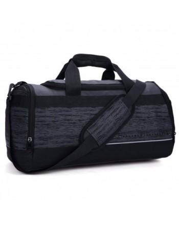 MIER Compartment Duffel Medium Black