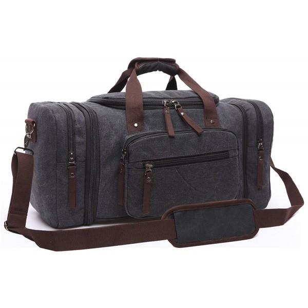 d17ff5809b Canvas Duffel Bag Vintage Canvas Weekender Bag Travel Bag Sports ...