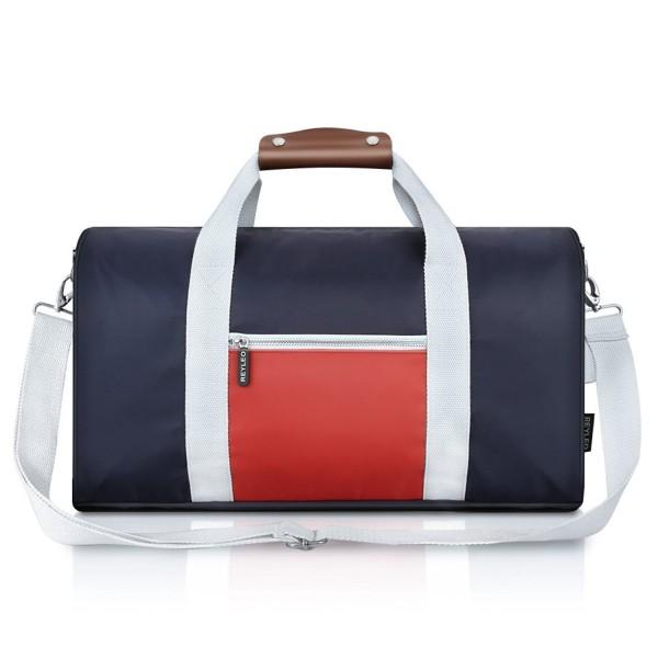 REYLEO Duffel Weekender Travel Leather