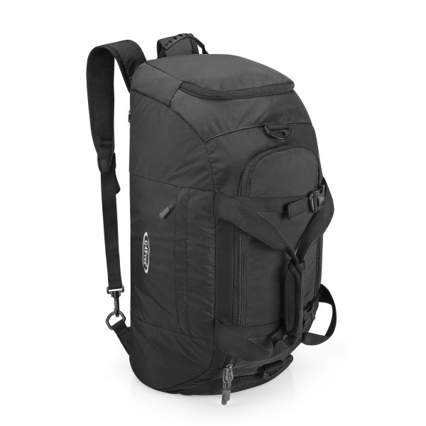 9c015d2c19 ... Sports Bag with Shoe Compartment - Black - CD12LW07YGV. G4Free Travel  Backpack Luggage Compartment