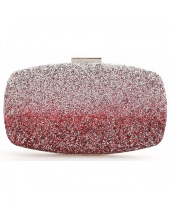e26235e8fb1 Womens Evening Bags Wedding Clutch Purse with Gradient Colors ...