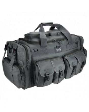 Gunmetal Duffel Military Tactical Shoulder