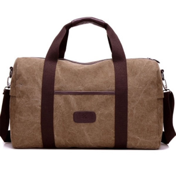 Mens Duffle Bag Canvas Weekender