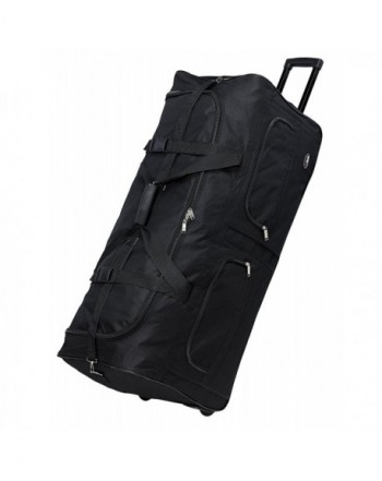 Polyester Rolling Wheeled Duffle Travel