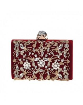 Womens Evening Clutch Wedding Handbag