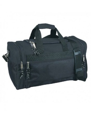 Compact Sport Duffle Bags Black