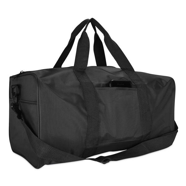 Nylon Square Duffle Bag Black