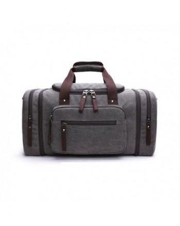 Canvas Luggage Crossbody Expandable Weekend