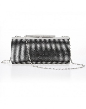 Crystal Clutch Women Large Evening