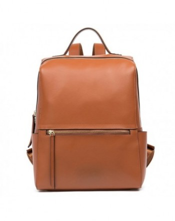FIGESTIN Genuine Leather Backpack Shoulder