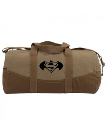 Batman Superman Round Duffle Bottom