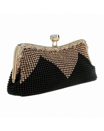 Afibi Handbags Rhinestone Evening Clutches