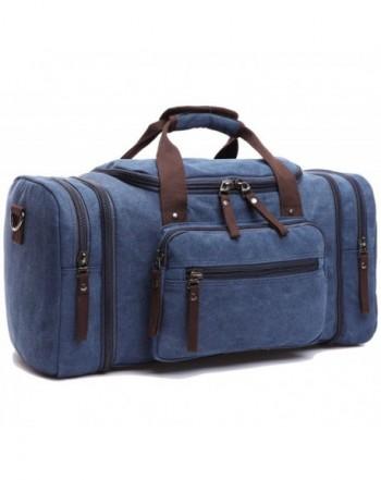 Leaper Canvas Weekender Shoulder Handbag