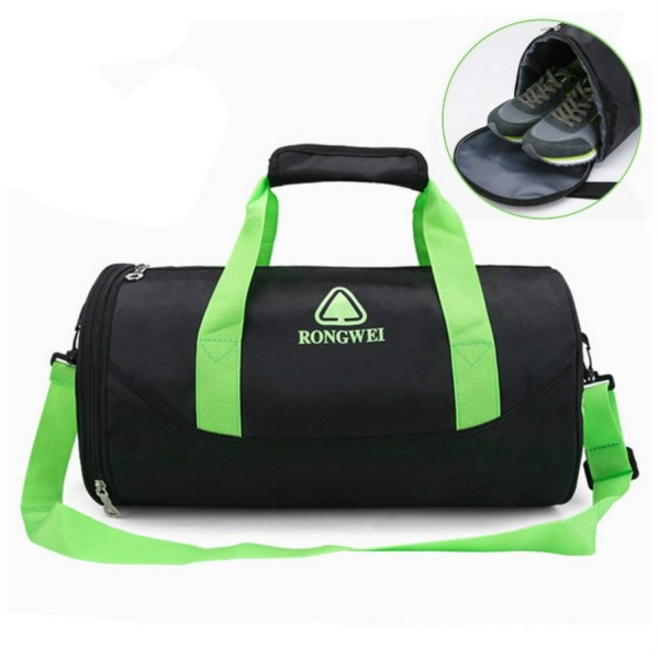 ... Shoe Compartment Travel Luggage Duffel Bag for Men and Women - Green -  CS188S5T2X6. CKOI Sports Compartment Travel Luggage 03cc4c1b1eec6